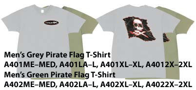 Men's Grey PIRATE T-Shirt